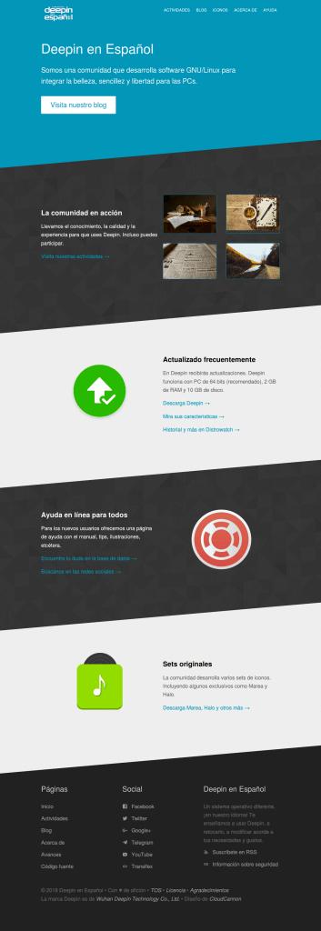 Copia de la web Deepin.ovh (también deepin-espanol en Gitlab)