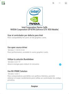 Captura de pantalla de Deepin Graphics Manager
