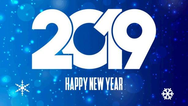 ¡TE DESEAMOS UN FELIZ 2019!